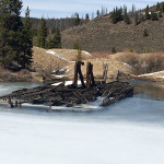 Dredge remnants
