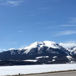 Moutains near Lake Dillon, CO
