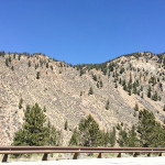 Highway mountain shots...